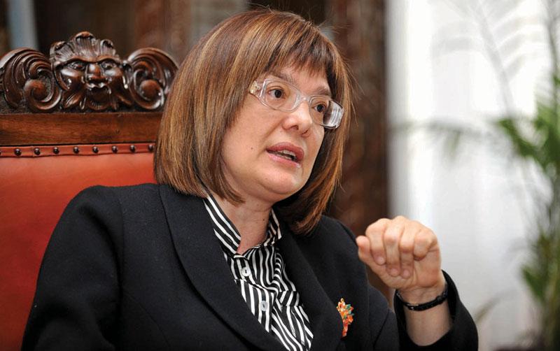 Maja Gojkovic elected for Serbian Parliament speaker