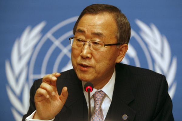 Ban Ki-moon worried about the political deadlock in Kosovo