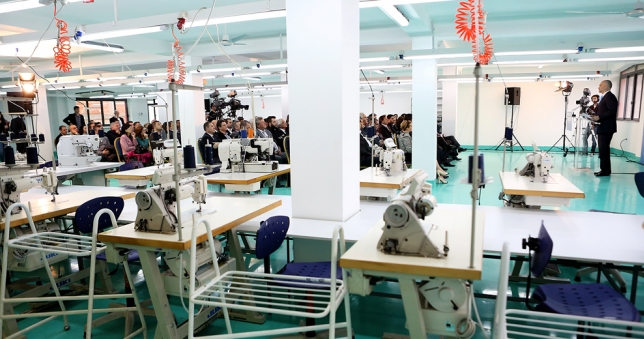 Aid package for the textile industry in Albania