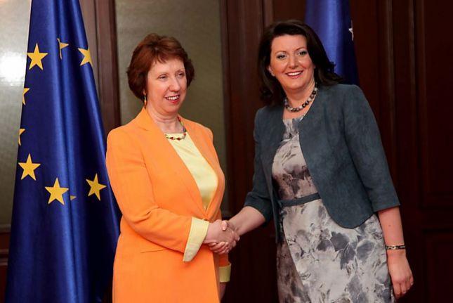 EULEX, baroness Ashton replies to president Jahjaga
