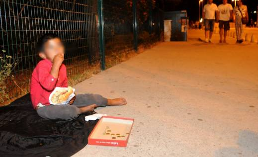 Begging on the streets as a way of life