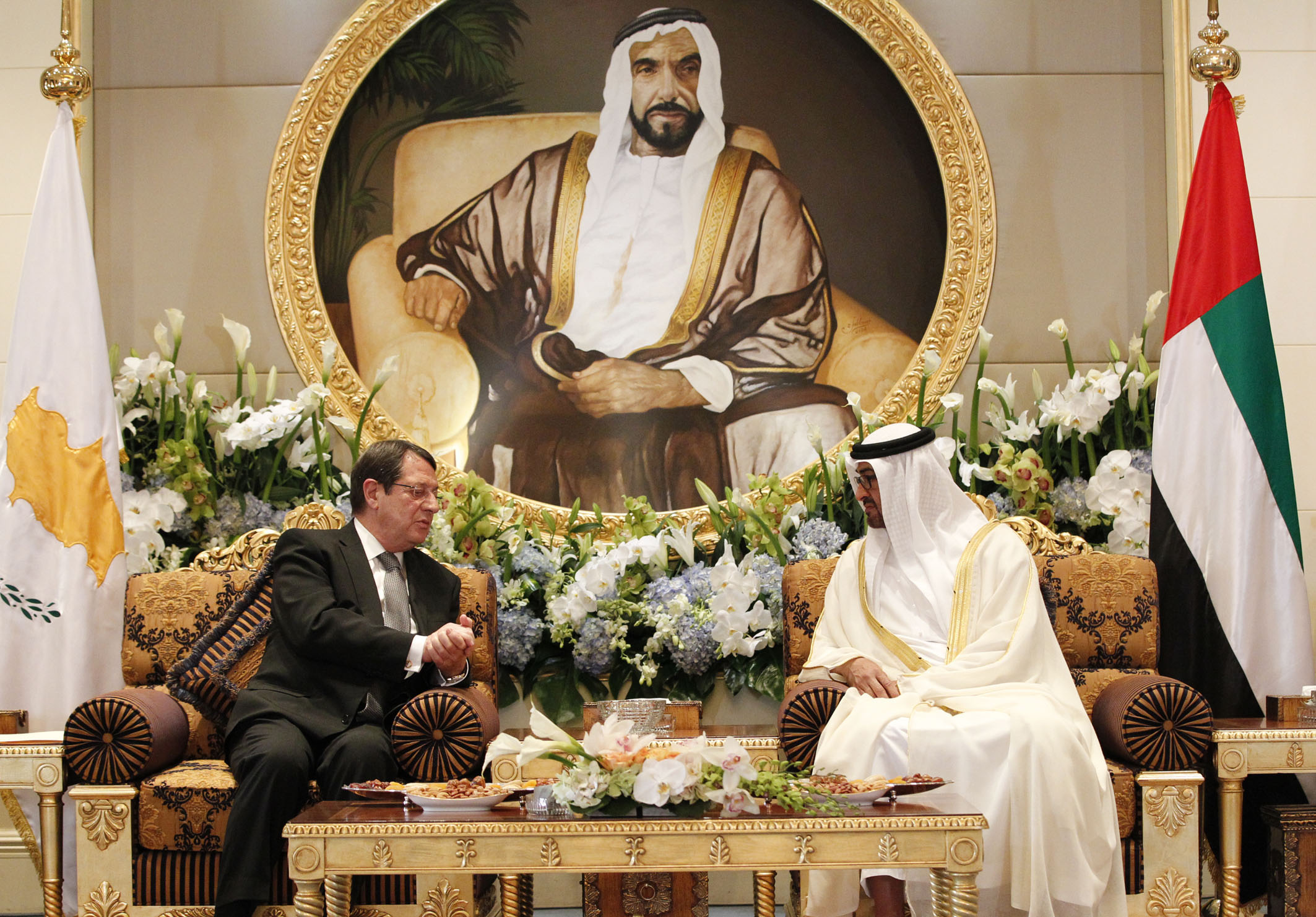 Anastasiades returns from UAE with hopes for investments