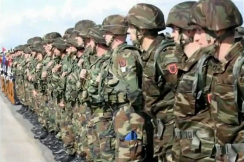Albanian army involved in drug trafficking?