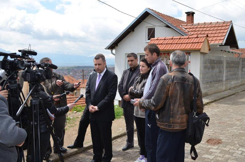 Threatening messages in the homes of Serbs of Kosovo
