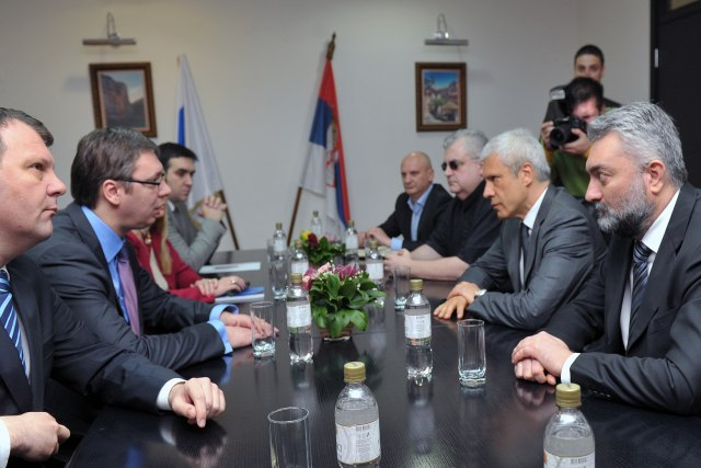 Vucic and Tadic 'in concordance' on new government