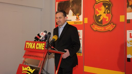 Georgievski: Our country doesn't need cross ethnic tensions
