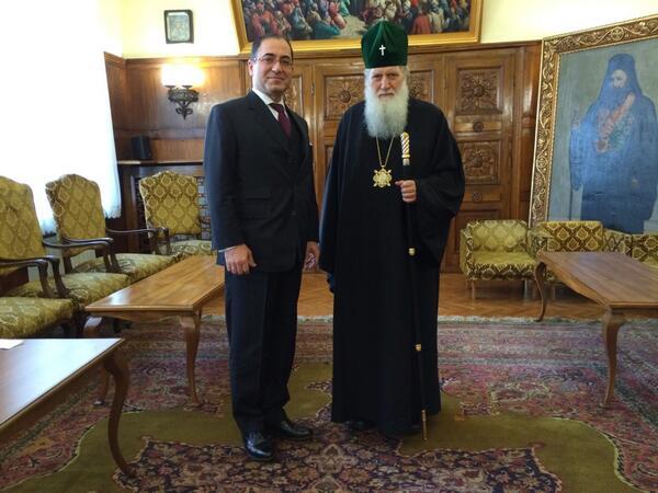 Bulgarian Orthodox Church head Patriarch Neofit holds talks with Turkish ambassador in Sofia