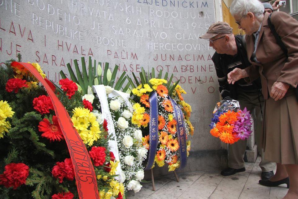 Sarajevo Citizens Marked 6 April-A Day of Commemoration and Celebration