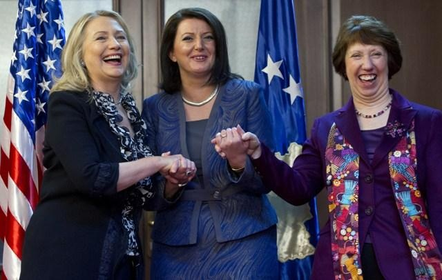 Fifth World Summit of Women, president of Kosovo engages in lobbying