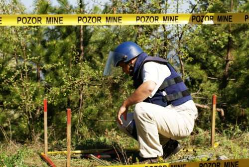 Day Against Mines-One More Step Towards a Safe Environment