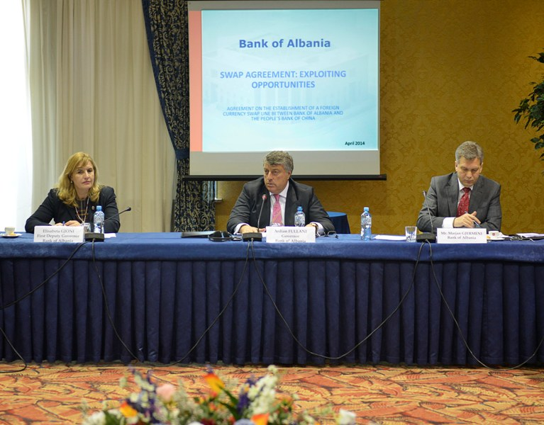 Growth in exports and imports boosts currency exchanges between Albania and China