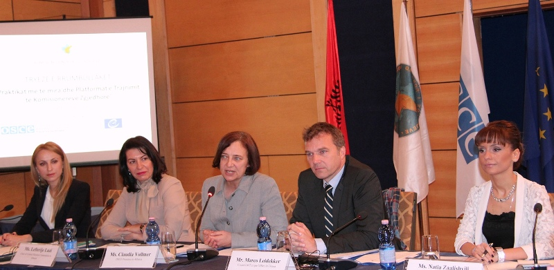 OSCE and Council of Europe assist Albania in increasing election commissioners' professionalism