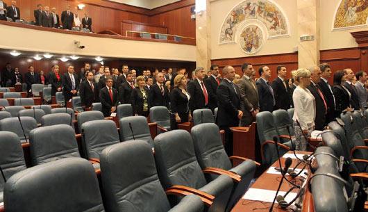 Fresh accusations between majority and opposition in Skopje