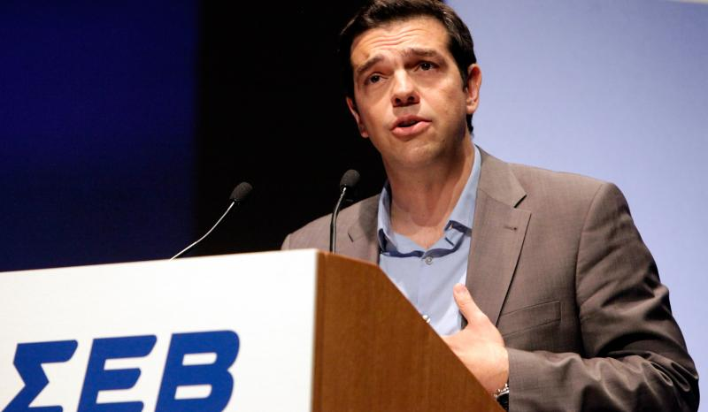 Tsipras invites industrialists to strike new 'social deal' with the left