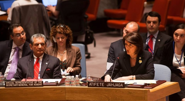 Debates between Pristina and Belgrade at the UNO: Nikolic victimizes Serbs, Jahjaga reacts