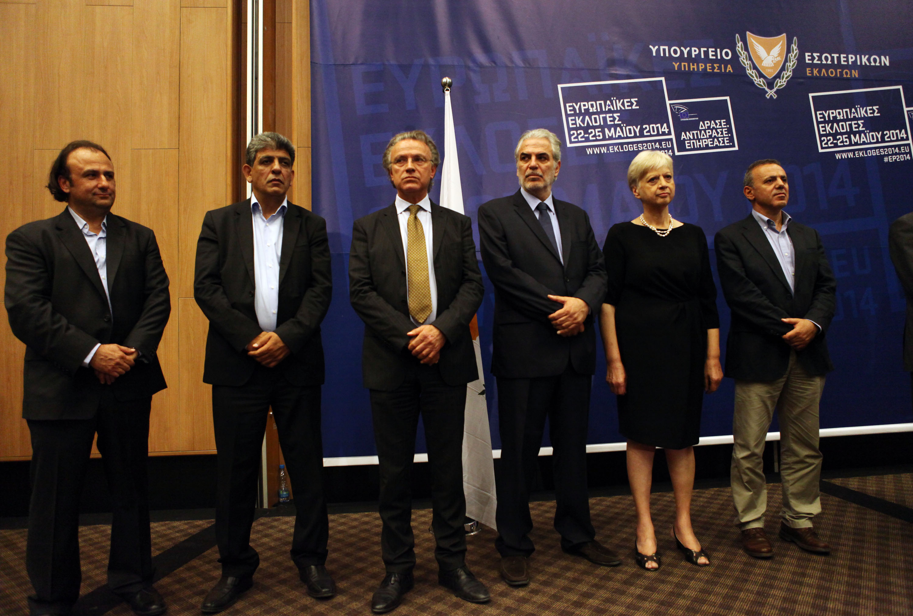 Cyprus elected six MPEs as abstention stood at 56,03%!