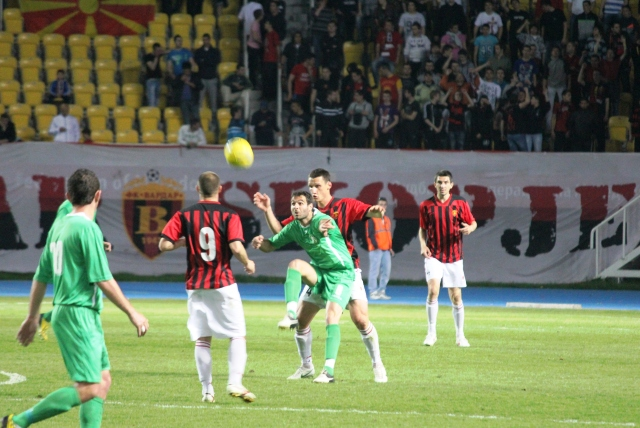 Football league in FYR Macedonia with a new format