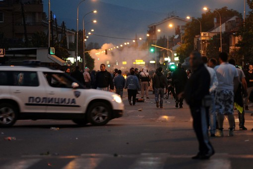 Reactions and comments over cross ethnic tensions in Skopje