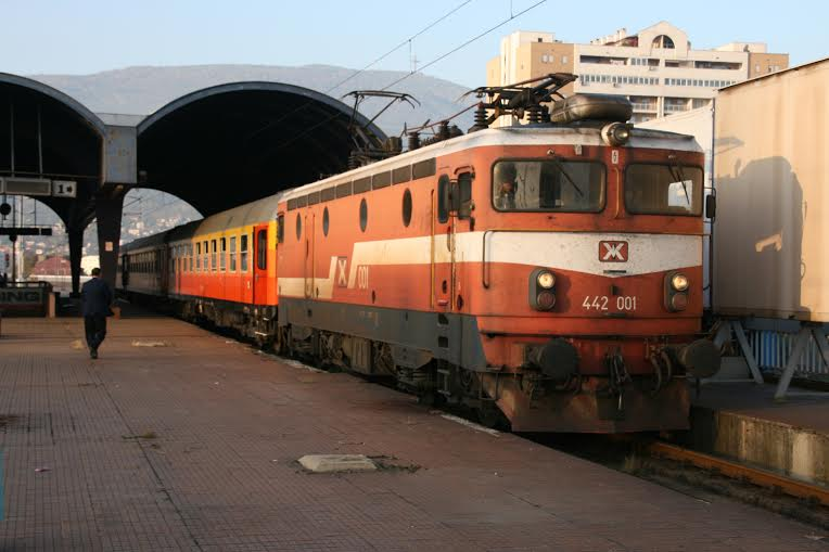 Railway line between Skopje and Thessaloniki opens again