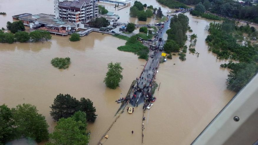 Floods in Serbia: More than 300 missing persons
