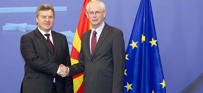 Ivanov-Rompuy: Croatian-Slovenian or Serb-Kosovar model to solve the name dispute