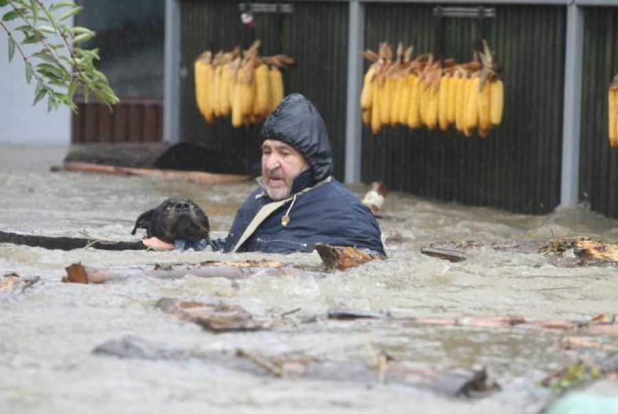 Heavy rains and floods in Serbia