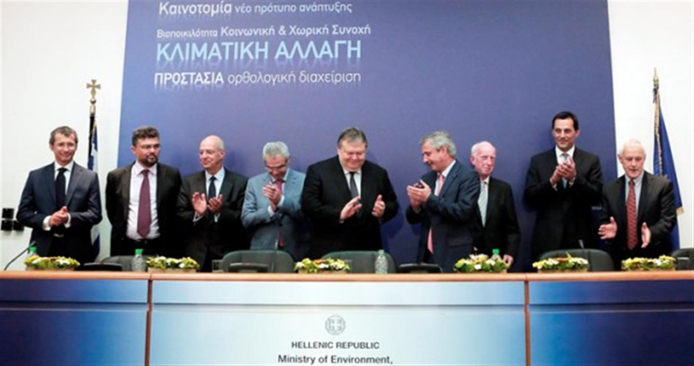 Greece signs three oil & gas concession deals