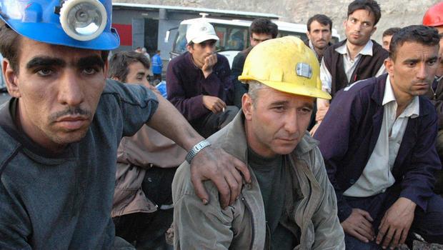 Big explosion in coal mine in Turkey