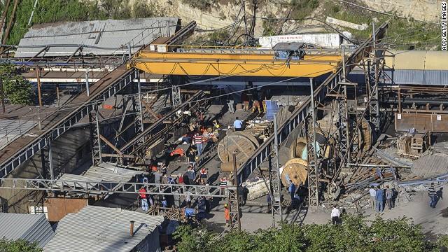 Transformer explodes in Turkish coal mine, killing 70