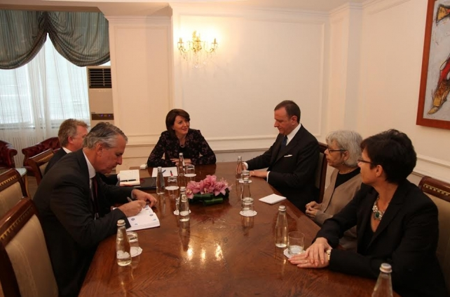 EU ambassadors briefed by the president on the June 8 elections