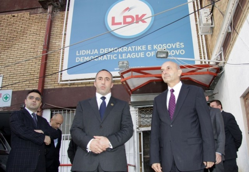 LDK and AAK hold talks for the pre electoral coalition