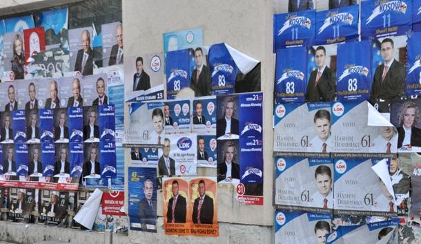 Parties in Kosovo unveil their electoral slogans