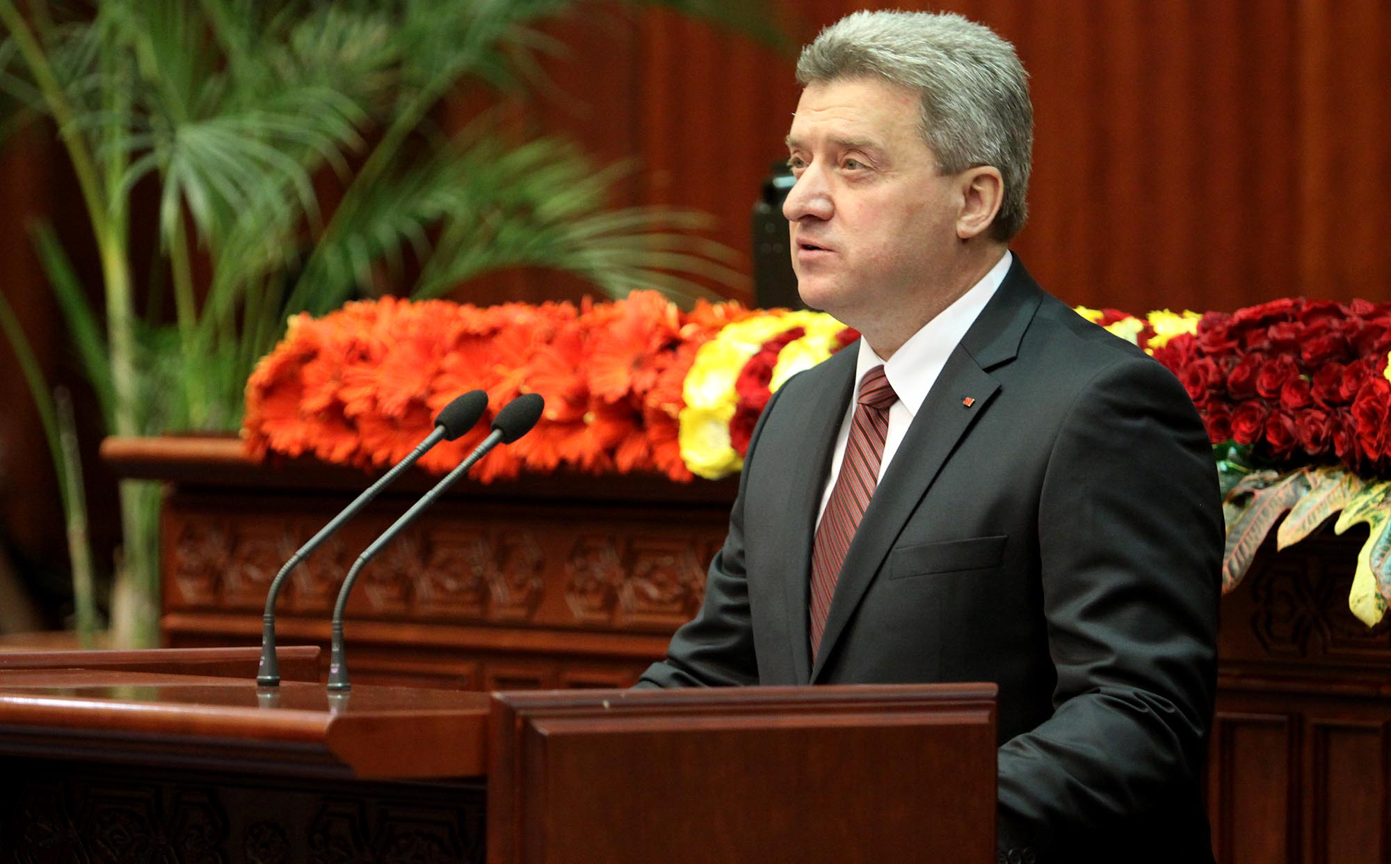 Ivanov: I will not allow constitutional amendments for the name change