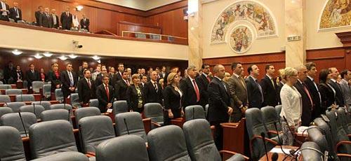 New parliament constituted, Veljanovski reelected speaker of parliament