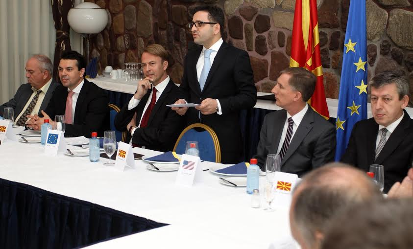 European Day filled with European messages for Skopje