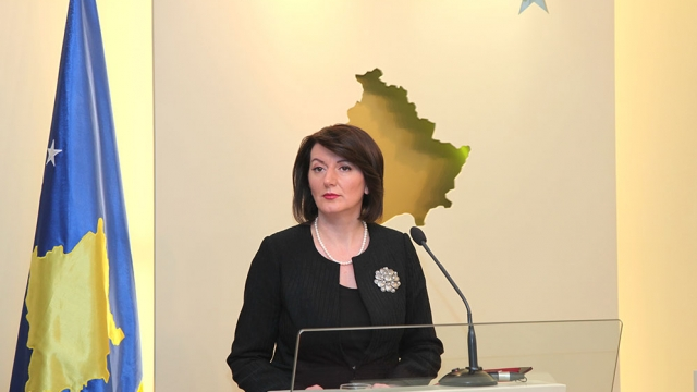 President Jahjaga announces June 8 as the date for the early elections
