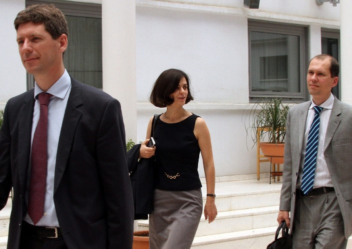 Troika delegation in Cyprus starts its contacts