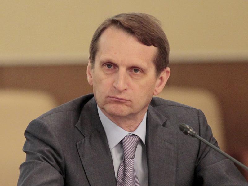 Naryshkin visited Belgrade despite US pressure