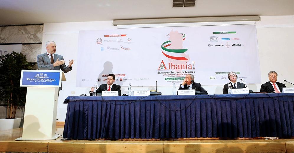 Italian week in Albania