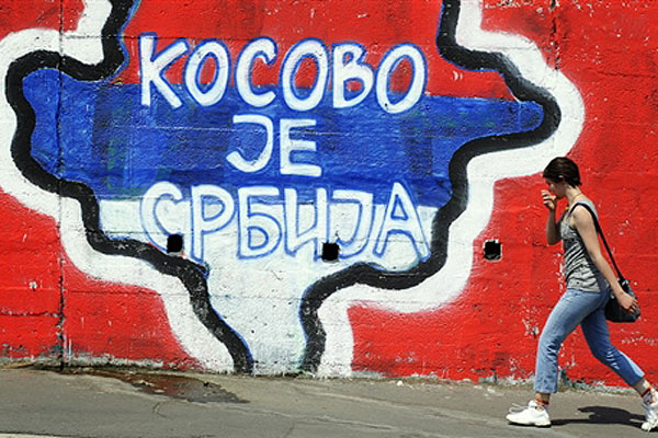 Serbia amid Kosovo and EU