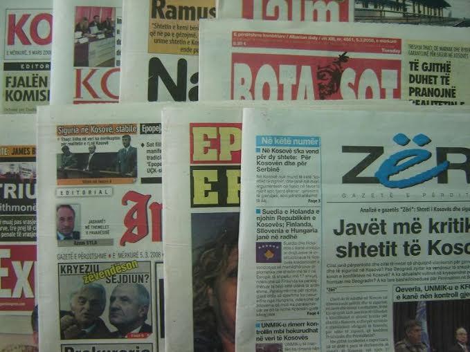 Financial crisis is censoring Kosovar media