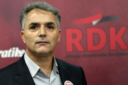 RDK gives up on its parliamentary seat, it doesn't recognize the elections