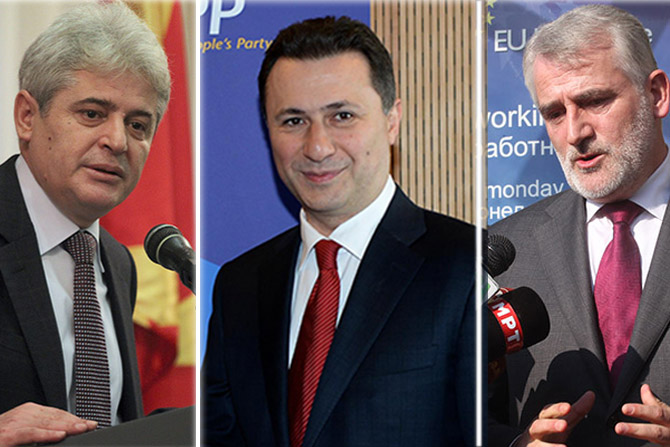 Albanian parties, in a race to be part of Gruevski's government