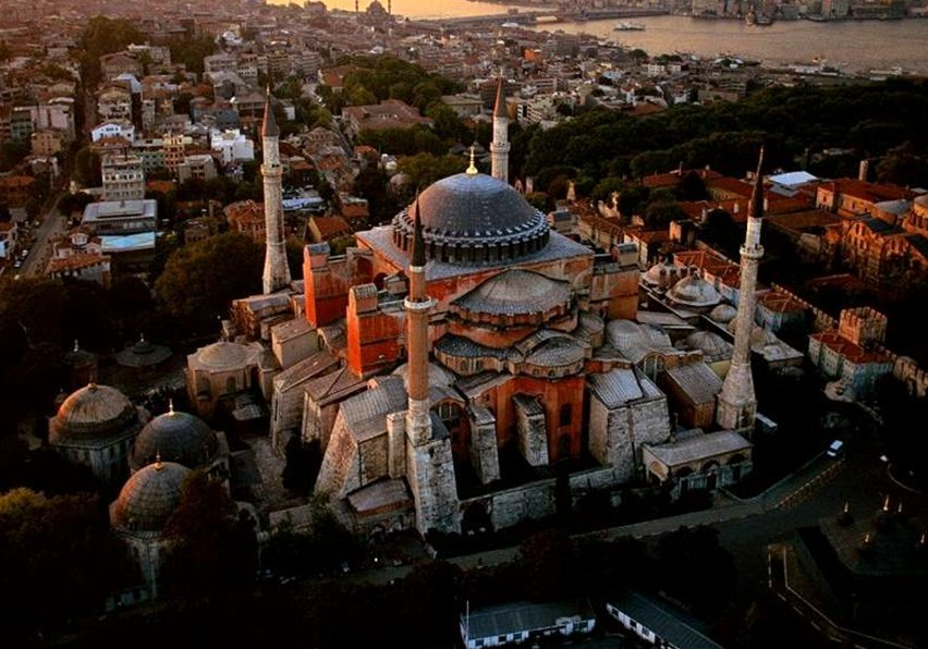 Erdogan prepares to pray in Hagia Sophia?