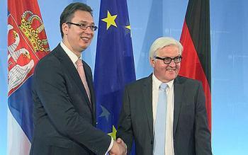 Steinmeier: Germany is demanding partner of Serbia
