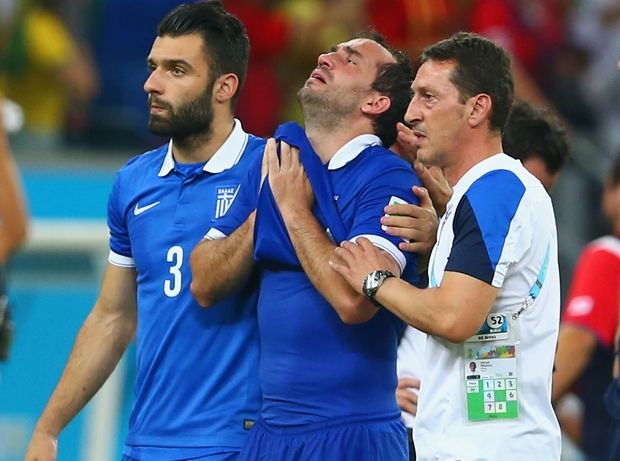 Greek World Cup dream is over