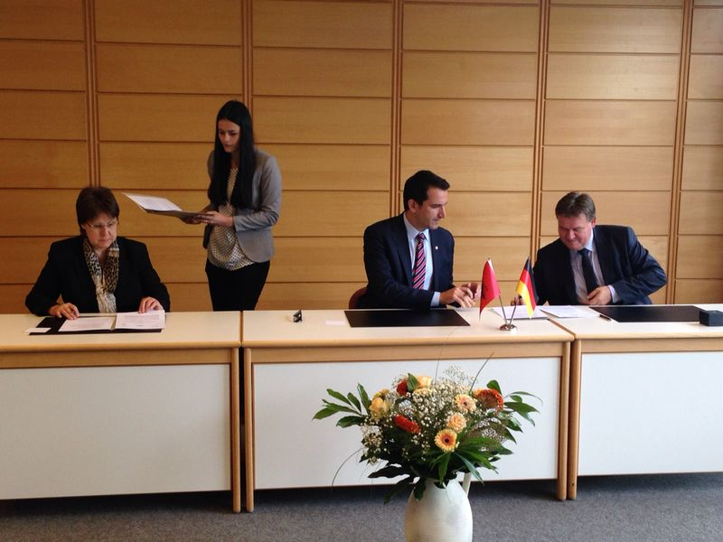 Albania and Germany sign an agreement on professional schools