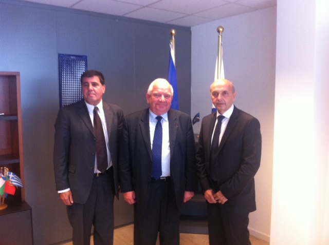 Mustafa receives support for the new government in Brussels
