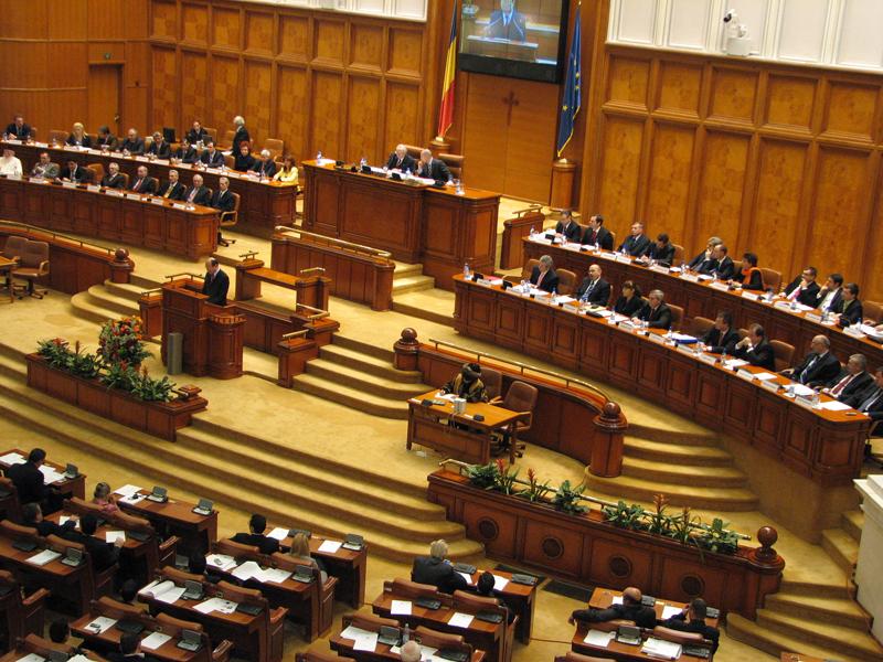 Romanian Parliament passes declaration asking for President Basescu's resignation