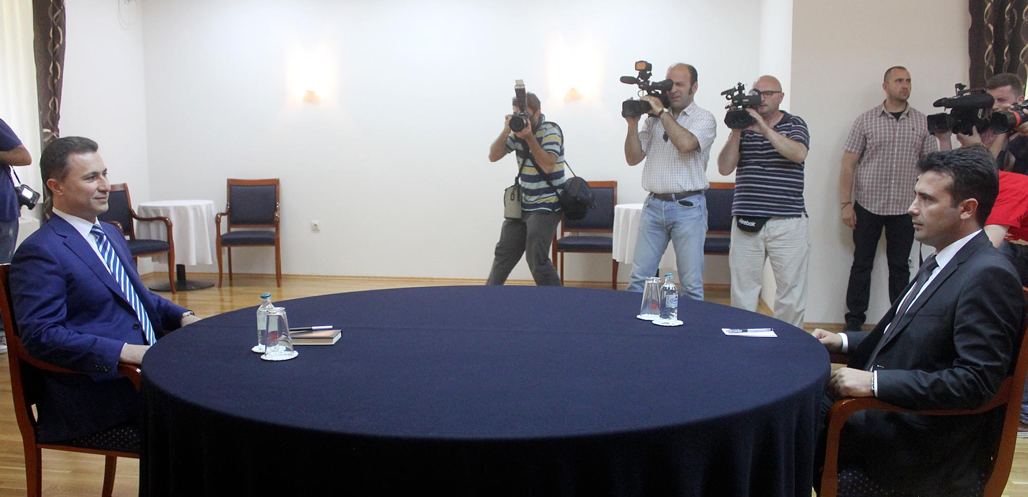 Political talks between majority and opposition end without an agreement